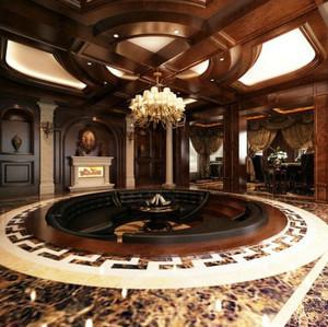 富丽堂皇的巴洛克风格别墅装修效果图