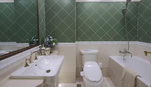 豪华的新古典风格卫生间设计装修效果图欣赏