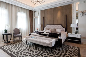 2015全新法式臥室窗簾裝修效果圖