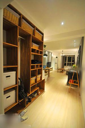 古典簡歐風格玄關鞋柜設計裝修效果圖