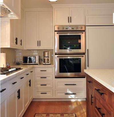 簡約典雅風格廚房裝修效果圖