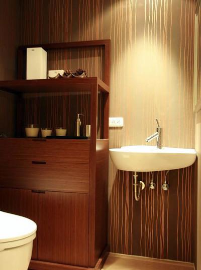 日式淡雅三居室卫生间装修效果图