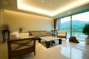构建清新自然写意生活大户型家庭家居室内装修效果图
