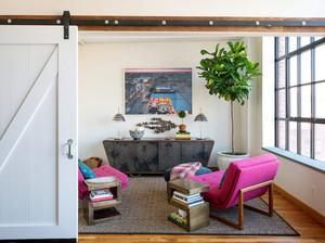118平米�凸棚L格的三居室家居�b∮修效果�D�b�p