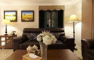 禅意房屋装修效果图:欧式朴素风格客厅设计
