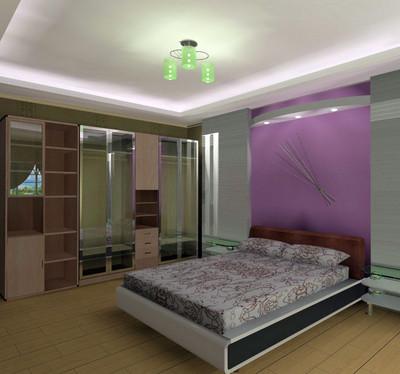 豪華與實用同在:大戶型臥室地板磚裝修效果圖欣賞