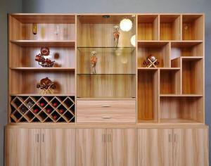 欧式风格的酒柜装修效果图大全