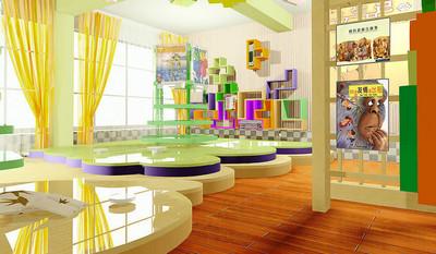 充满灵感的幼儿园装修设计效果图