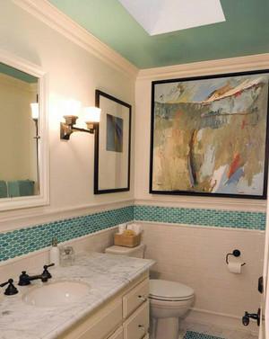 小户型豪华的欧式风格小卫生间装修效果图