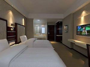 温馨舒适的宾馆装饰设计效果图欣赏