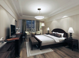时尚欧式小户型家装卧室装修效果图