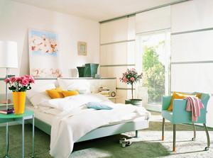 单身公寓田园风格卧室装修图片
