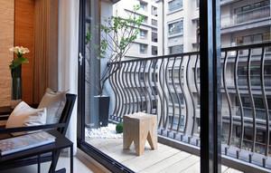 单身公寓小阳台装修设计效果图