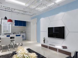 空间其他 简欧 电视墙 大户型装修