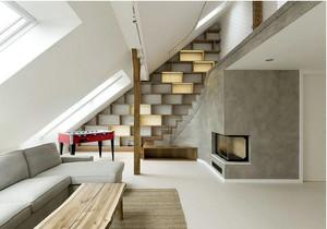 朴素简洁30平米小户型阁楼装修效果图