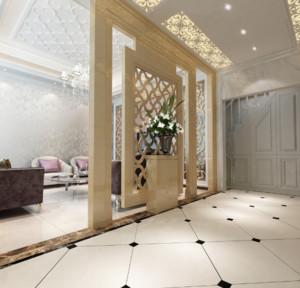 90平米现代欧式大户型玄关装修效果图鉴赏