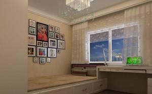 188平米婚房简约客房榻榻米床装修效果图