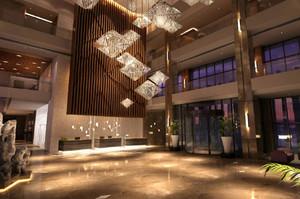空间其他 中式 局部其他 酒店装修