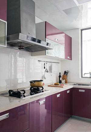 经典赏析:简约家庭厨房装修设计图