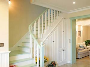 宜家小戶型躍層樓梯儲物間設計效果圖片