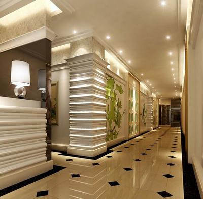 时尚现代ktv走廊装修设计效果图