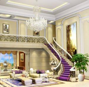 空间其他 欧式 楼梯 90平米装修
