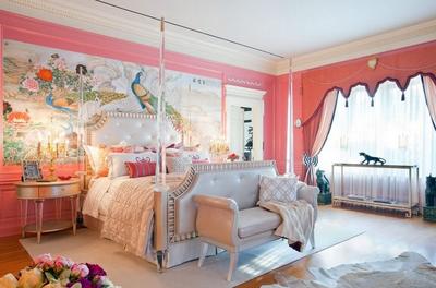 歐式公主臥室裝修效果圖