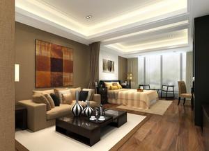 44平米朴素温馨小型公寓装修效果图