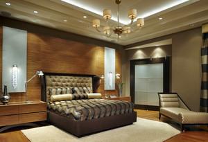 两室一厅巴洛克风格卧室装修效果图