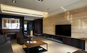 大户型马可波罗瓷砖电视背景墙装修效果图