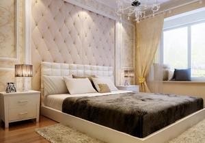 65平米欧式小卧室背景墙装修效果图鉴赏