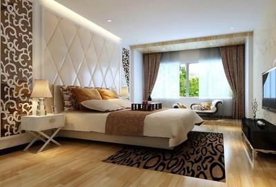 120平米别墅型欧式卧室吊顶装修效果图
