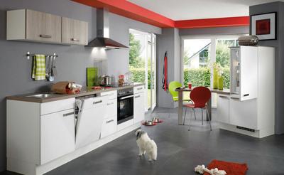 都市時尚簡約廚房裝修效果圖