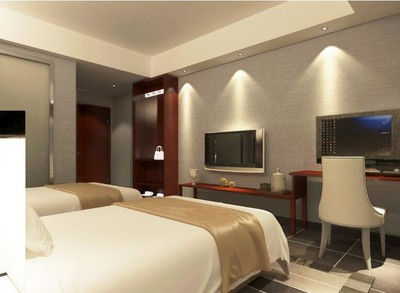 30平米小户型宾馆室内装修效果图实例