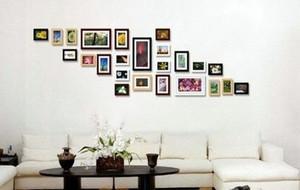 现代风格创意满满照片墙装修效果图