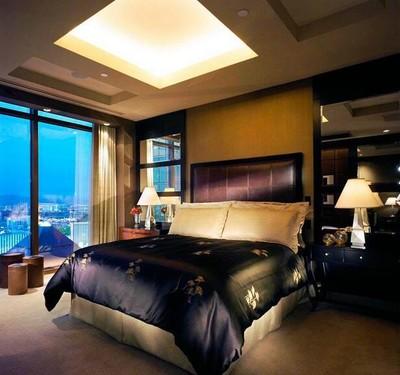 60平米宜家风格精致酒店卧室装修效果图
