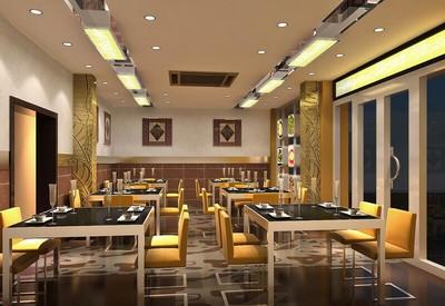 200平米大户型宜家餐厅室内设计装修效果图