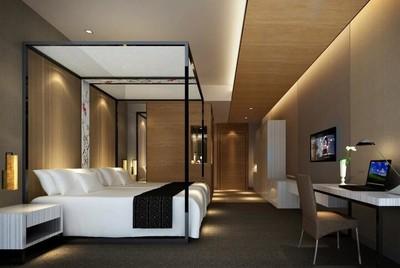 30平米现代宜家宾馆卧室室内装修效果图