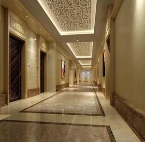 75平米精致的酒店过道吊顶装修效果图