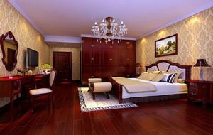 卧室 美式 局部其他 120平米装修
