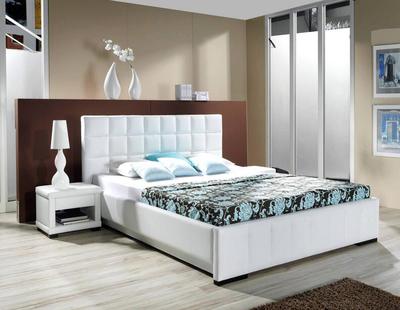 簡歐風格別墅型臥室背景墻裝修效果圖