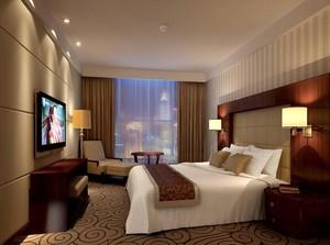 2016经典的唯美酒店卧室装修设计效果图