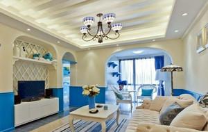 2016年新款地中海风格自然客厅吊灯设计效果图
