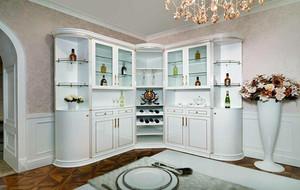 现代精致的大户型餐厅家装酒柜设计装修效果图