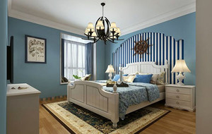 地中海风格精致时尚卧室装修效果图大全