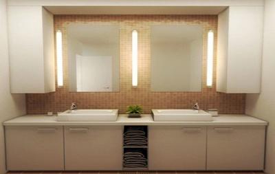 现代时尚混搭创意卫生间装修效果图赏析