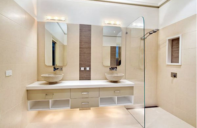 120平米简约风格时尚创意室内卫生间装修效果图