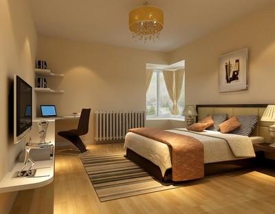 2016欧式大户型卧室吊顶设计装修效果图