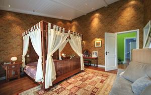 120平米混搭风格卧室装修效果图