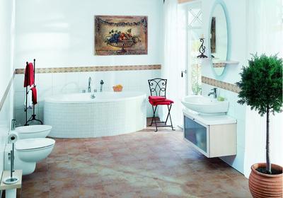 北欧风格大户型卫生间装修效果图